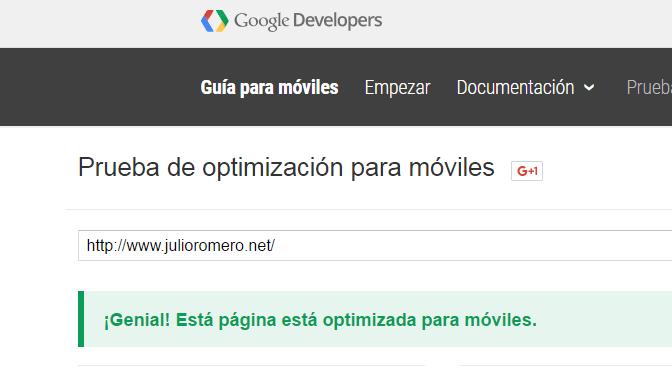 prueba optimización móviles