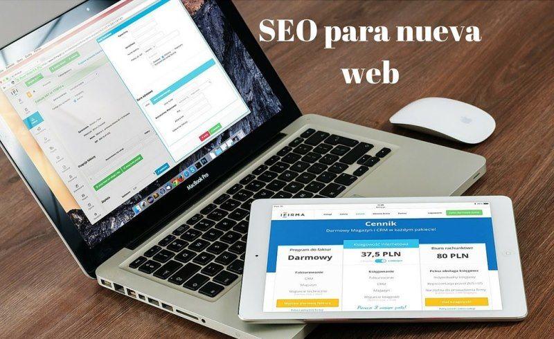 SEO para nueva web