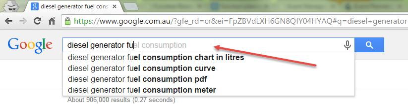 autocompletar google