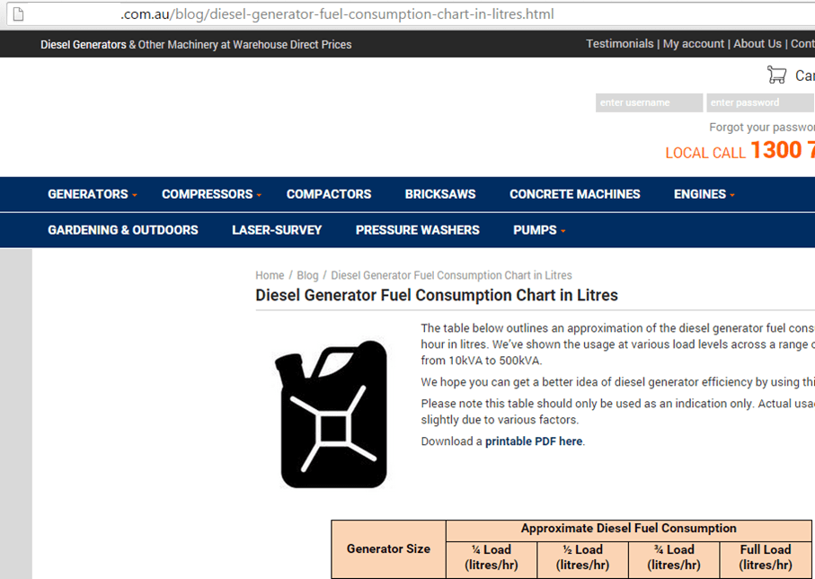 fuel diesel consumption 2