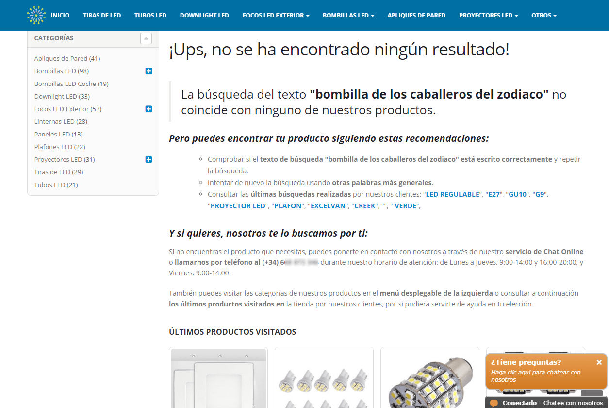 buscador ecommerce optimizado